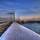 the pier by Bruce  Dickson