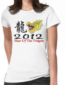 Year of The Dragon 2012 Womens Fitted T-Shirt