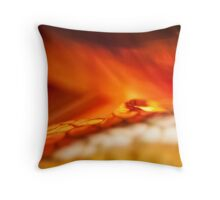 Reality of Firelight Throw Pillow