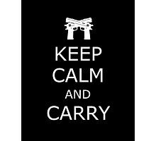 Keep Calm and Carry Photographic Print