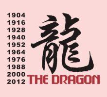 Chinese Zodiac Dragon One Piece - Long Sleeve