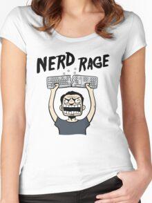 Nerd Rage Women's Fitted Scoop T-Shirt
