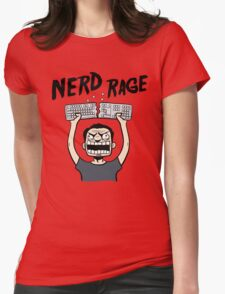 Nerd Rage Womens Fitted T-Shirt