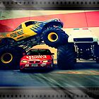 Monster trucks by teddybearcholla
