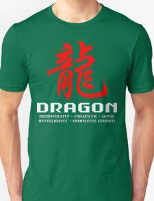 Chinese Zodiac Dragon Characteristics Unisex T-Shirt