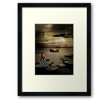 Be Calm in Your Heart Framed Print