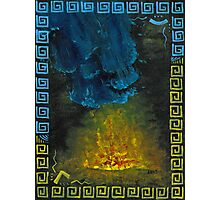 Fire & Water Photographic Print