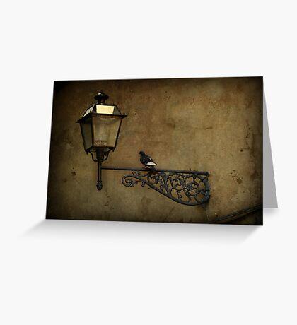 Pidgeon Street Greeting Card