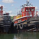 Two Tugs by Tom Allen