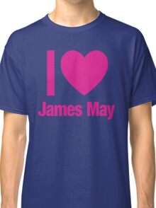 Top Gear - I LOVE JAMES MAY Classic T-Shirt