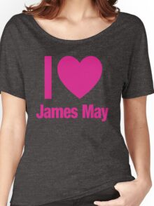 Top Gear - I LOVE JAMES MAY Women's Relaxed Fit T-Shirt