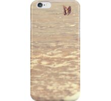 Butterfly on the beach, Coral bay, Western Australia iPhone Case/Skin