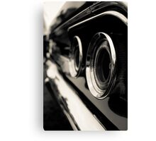Rear Charger Canvas Print