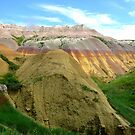 Badlands 2 - Yellow Mounds by dandefensor