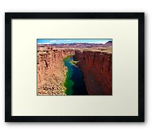 Marble Canyon Framed Print
