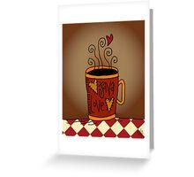 Java Love Greeting Card