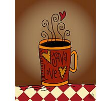 Java Love Photographic Print