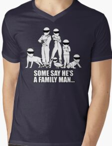 Top Gear - Some Say He's a Family Man... Mens V-Neck T-Shirt