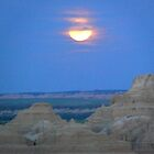 Badlands Moon by dandefensor