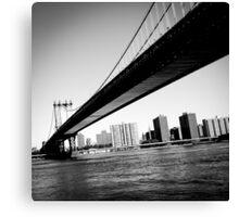 Manhattan Bridge, New York, USA Canvas Print