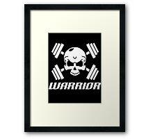 Skull Warrior  Framed Print