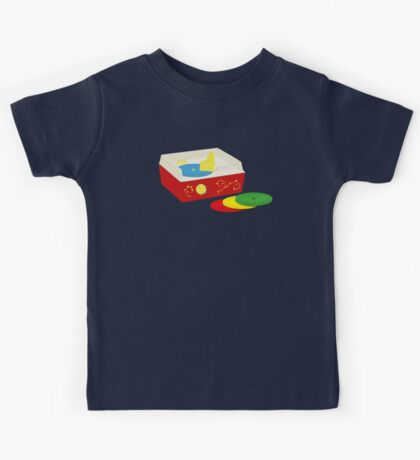 You never forget your first record collection Kids Tee