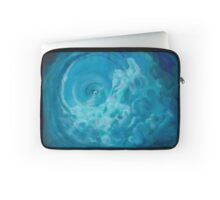 Whirlwind of Souls- Oil painting on canvas by Nina Vox Laptop Sleeve