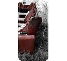 Derelict Chair iPhone Case/Skin