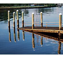 Pier-iod Illusion Photographic Print