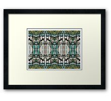 street scene spain repeat Framed Print