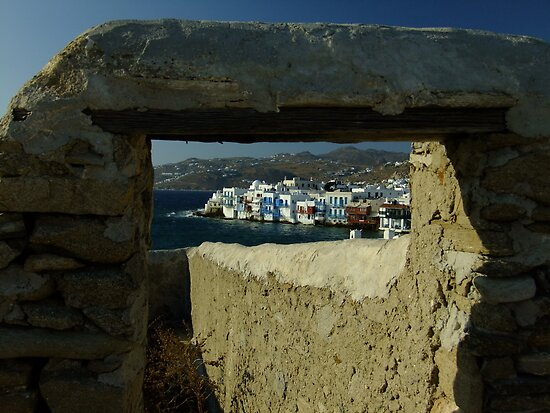 Little Venice, Mykonos by Themis