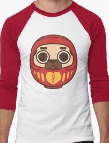 Puglie Daruma Men's Baseball ¾ T-Shirt
