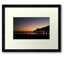 Puerto Rico Sunset Framed Print