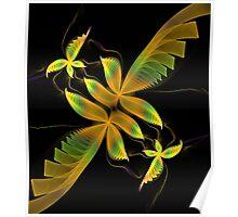 Fluttering Poster
