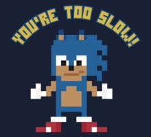 8Bit Sonic One Piece - Short Sleeve