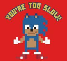8Bit Sonic Baby Tee