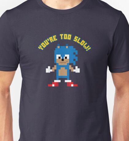 8Bit Sonic Unisex T-Shirt