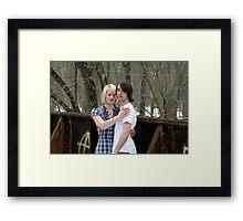Mac & Amanda Framed Print
