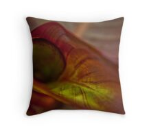 Lily close-up Throw Pillow