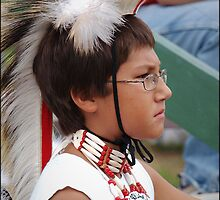 Powwow Dancer, August 2011 by Raianerastha