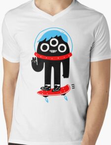 Nice Alien Mens V-Neck T-Shirt