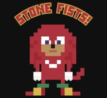 8Bit Knuckles One Piece - Short Sleeve