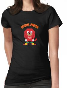 8Bit Knuckles Womens Fitted T-Shirt