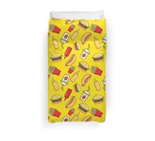 Fast food Duvet Cover