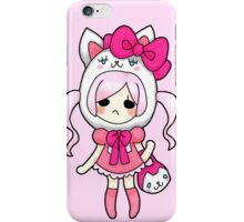 Kitty Dressed Pretty iPhone Case/Skin