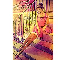 50s pinup Photographic Print