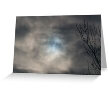 Moon & Clouds Greeting Card