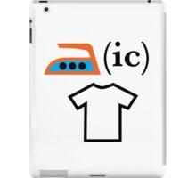 Ironic T Shirt iPad Case/Skin