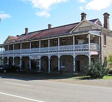 A stately old Hotel, possibly built in late 1800 circa N.S.W by Rita Blom