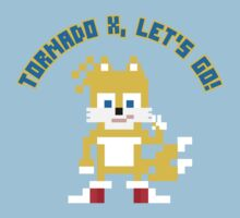 8Bit Tails One Piece - Short Sleeve